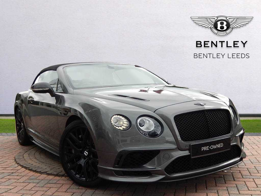 Bentley Continental Supersports Convertible Used Car For